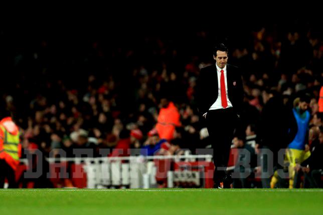Arsenal แพ้ให้ Eintracht Frankfurt เพิ่มความกดดันแก่ Emery