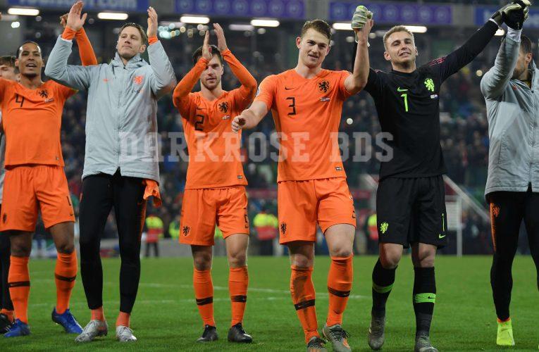 Euro 2020 รอบคัดเลือก: เนเธอร์แลนด์เข้ารอบไฟนอลครั้งแรกตั้งแต่ 2014