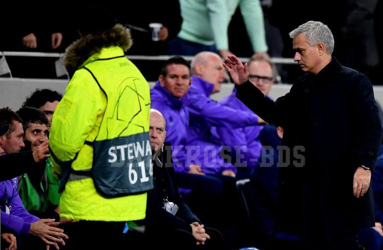 Jose Mourinho ชื่นชมเด็กเก็บบอลหลังจากที่ทอตแนมชนะ Olympiakos