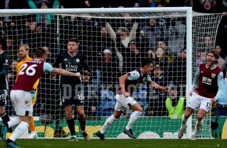 Burnley คืนฟอร์มเอาชนะเลสเตอร์มาได้