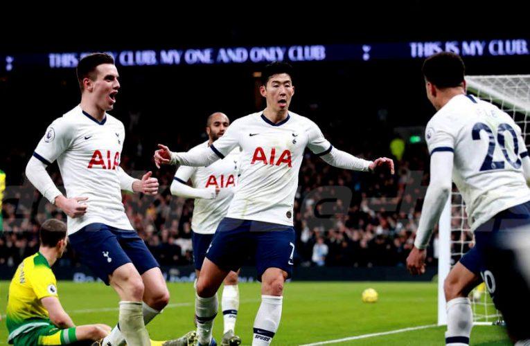 Tottenham Hotspur ชนะเกมลีกแรกของปี 2020